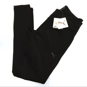 Puma Fitness Slim Ankle Tights Legging Black M NWT